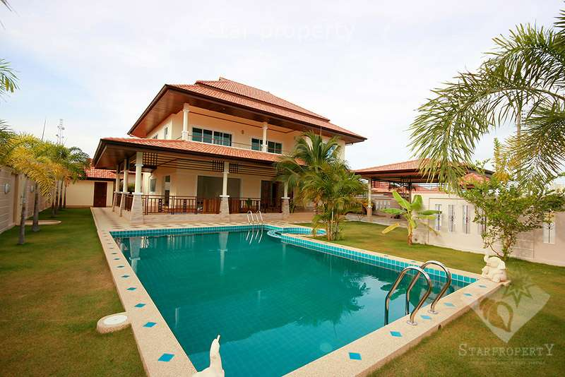 Luxury 5 Bedroom House with Pool in Hua Hin Soi 94