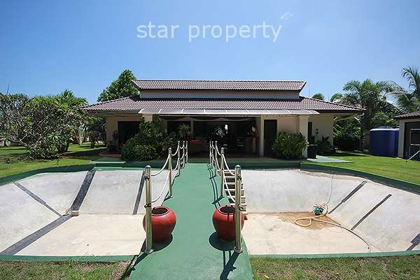 3 Bedroom House on Large Plot of Land in Pranburi at Pran Buri District, Prachuap Khiri Khan, Thailand