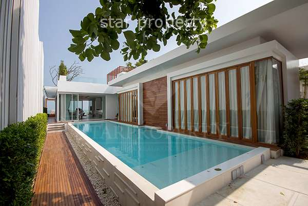 Luxury Beach Front Villa with Private Pool at Hua Hin