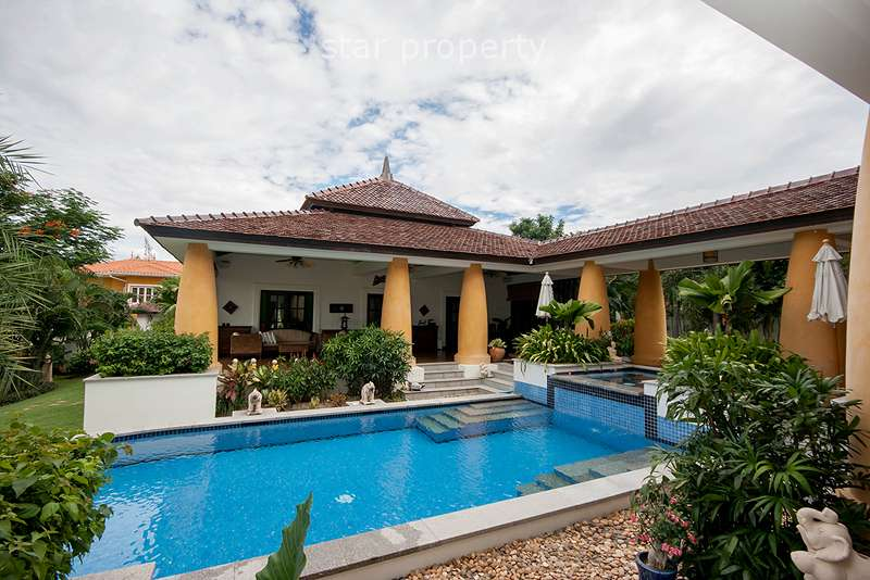 Luxurious Home with Private Pool for Rent at Hunsa