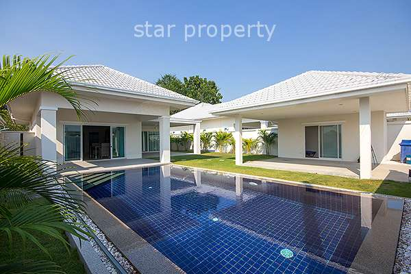 3 Bed Pool Villa at Avenue Gold II in Hua Hin Soi 88 – Plot 22 at Hua Hin District, Prachuap Khiri Khan, Thailand