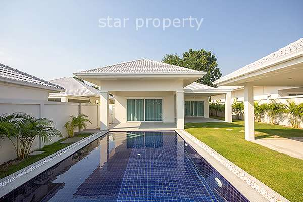 3 Bed Pool Villa at Avenue Gold II in Hua Hin Soi 88