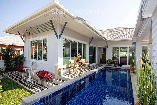 3 Bedroom Pool Villa at Kirinakara Hua Hin Soi 70 at Kirinakara Hua Hin Soi 70