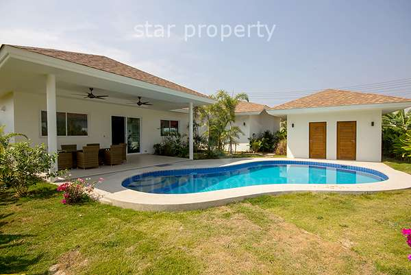 3 Bedroom Pool Villa at The Grove Villas Hua Hin Soi 70