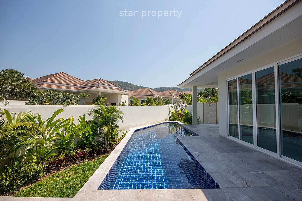 Beautifully Modern Home for Rent at Red Mountain Hua Hin Soi 88
