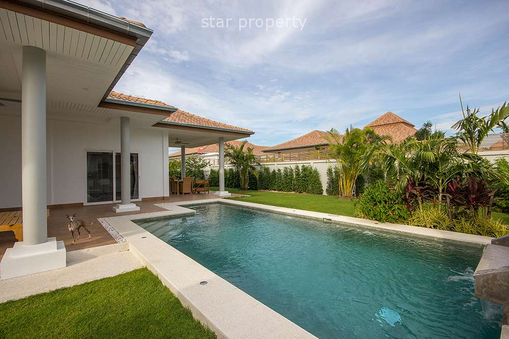Beautiful Pool Villa for Rent at Mali Hua Hin 112 at Mali Hua Hin 112