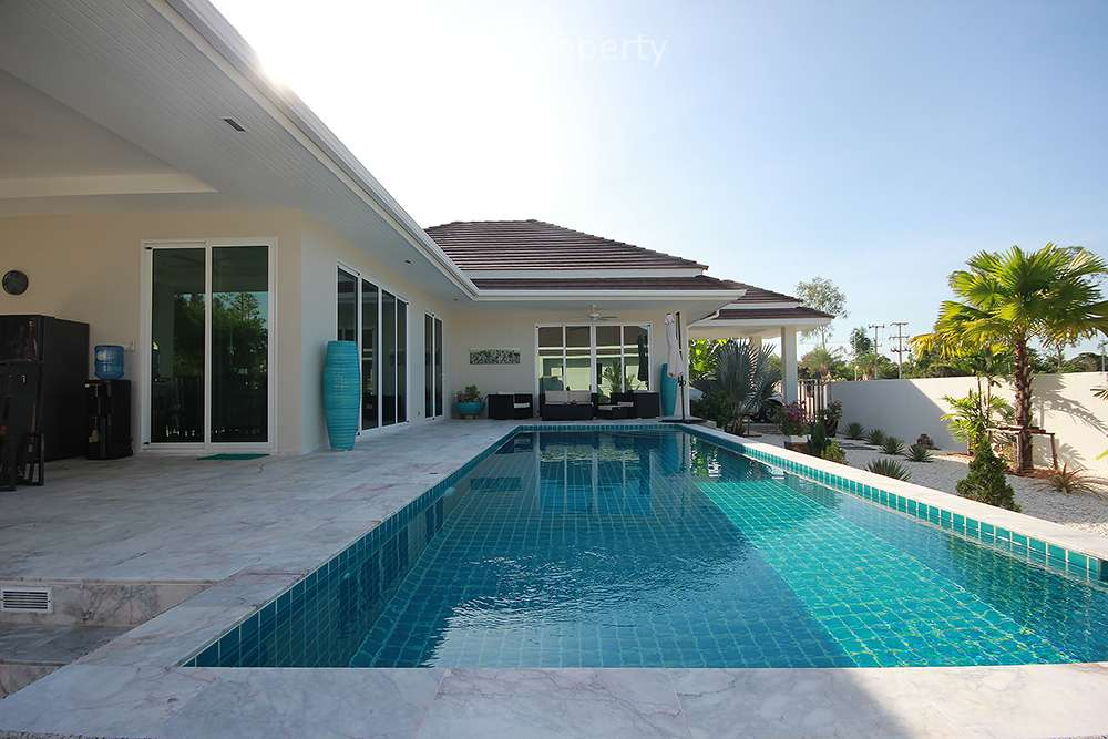 Stunning 3 Bedroom Pool Villa for Sale at Woodlands Soi 88 Hua Hin at Hua Hin District, Prachuap Khiri Khan, Thailand
