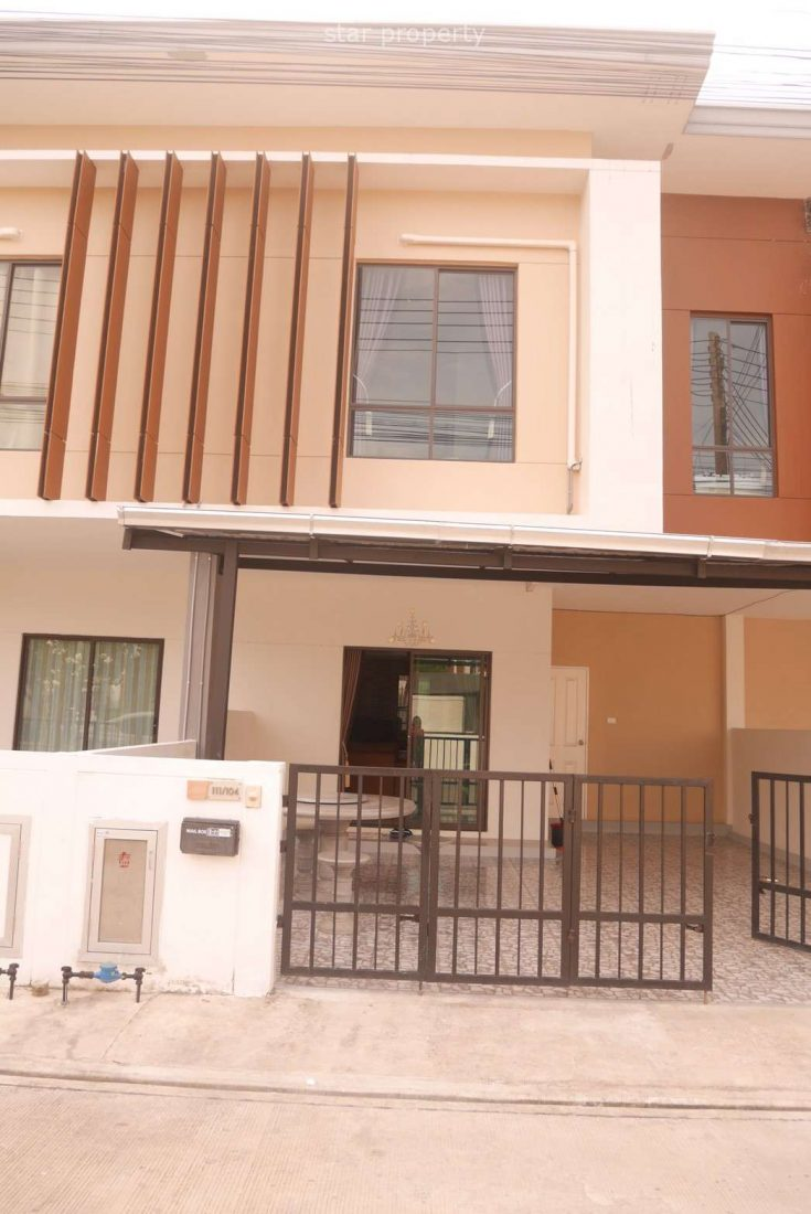 Beautiful Town Home For Rent Soi 70. at Lavallee Town 3