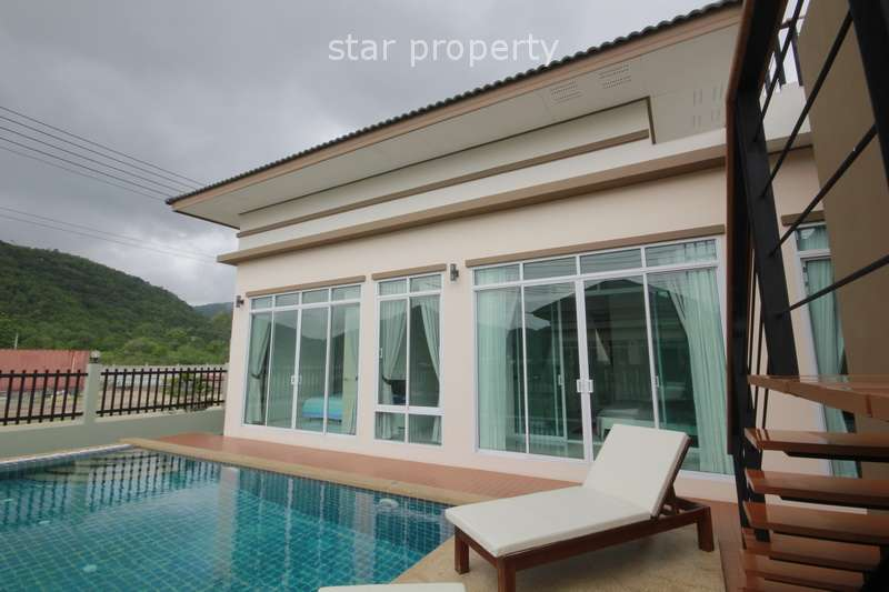 Beautiful Modern Pool Villa for Sale in Hua Hin Soi 6