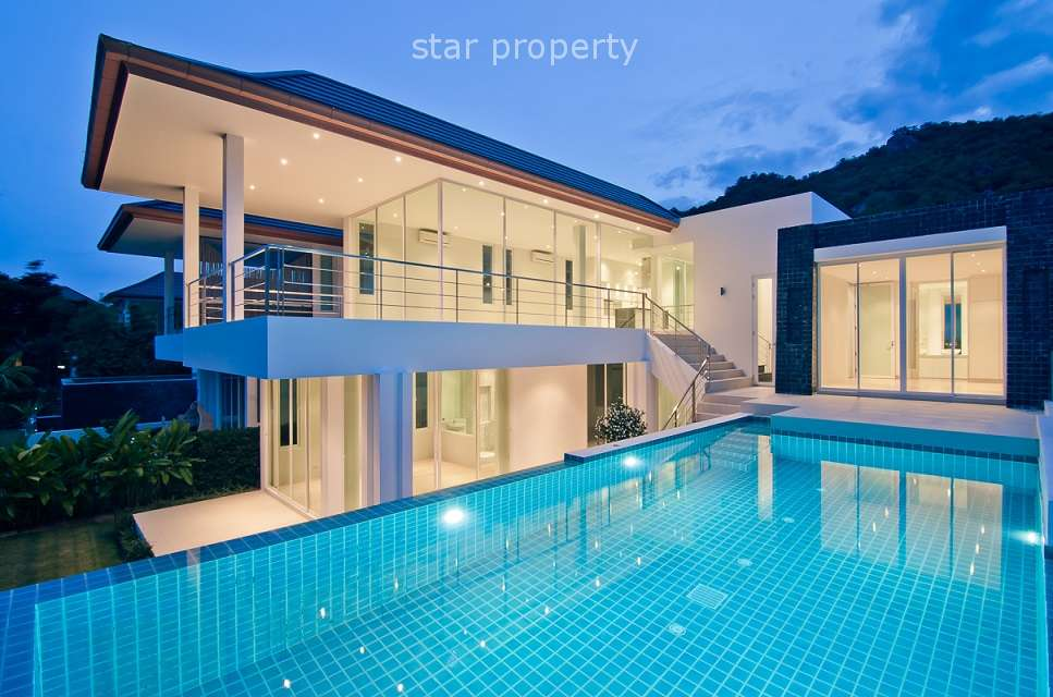 Luxurious 3 Bedroom House with Private Pool in Hua Hin Soi 126 at Hua Hin Soi 126