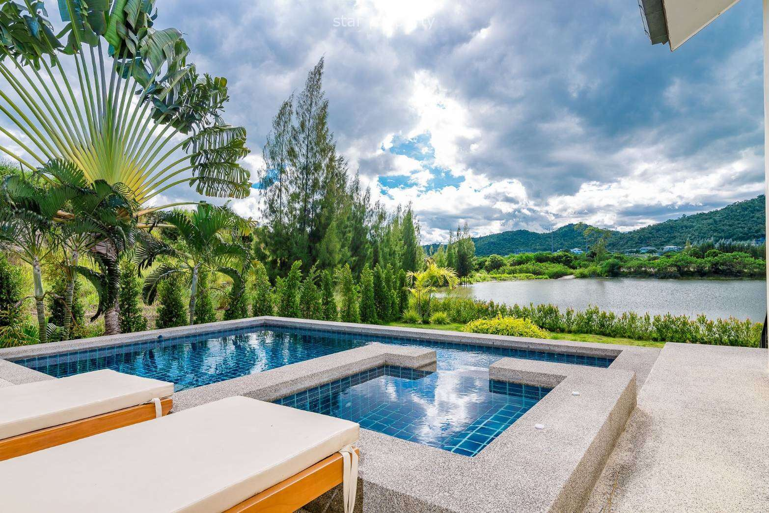 5 Bedroom Pool Villa with Stunning Mountain View for Sale at Hua Hin District, Prachuap Khiri Khan, Thailand