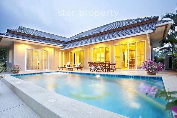 3 Bedroom Pool Villa at Searidge Hua Hin Soi 134