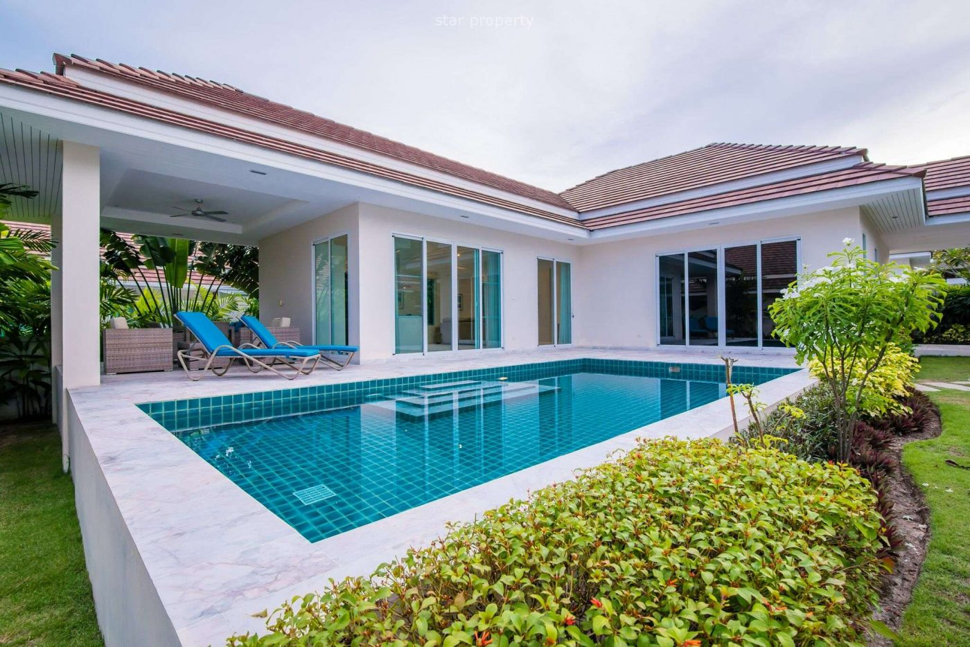 3 Bedroom Pool Villa for Sale at Woodlands Soi 88 Hua Hin at Hua Hin District, Prachuap Khiri Khan, Thailand