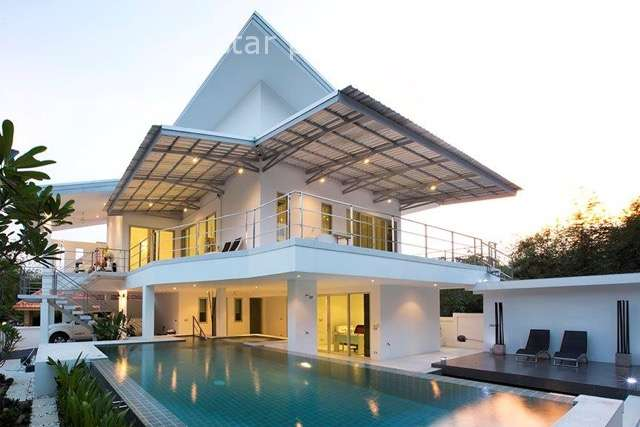 Modern 2-Storey Pool Villa for Sale in Hua Hin Soi 88 at Hua Hin District