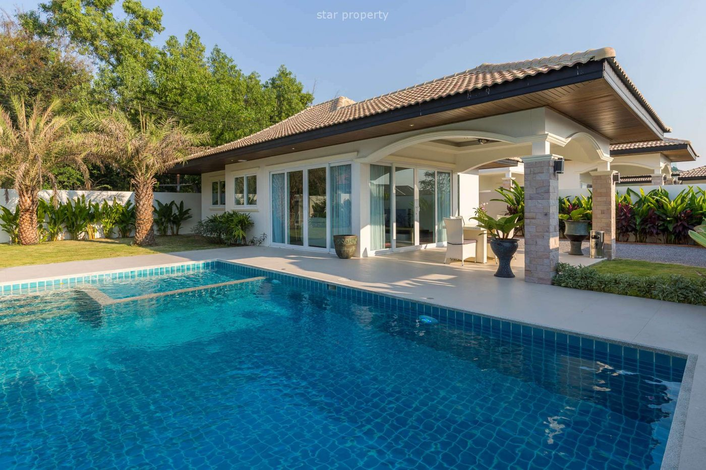 Beautiful 3 Bedroom Pool Villa at Orchid Paradise Homes Hua Hin Soi 58 at Hua Hin District, Prachuap Khiri Khan, Thailand