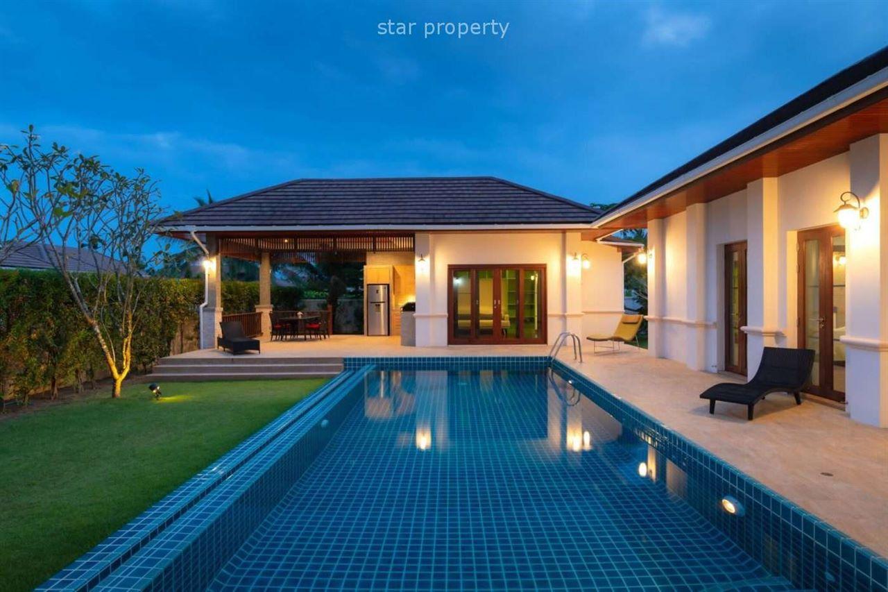 Beautiful Villa with Pool View at Hua-Hin