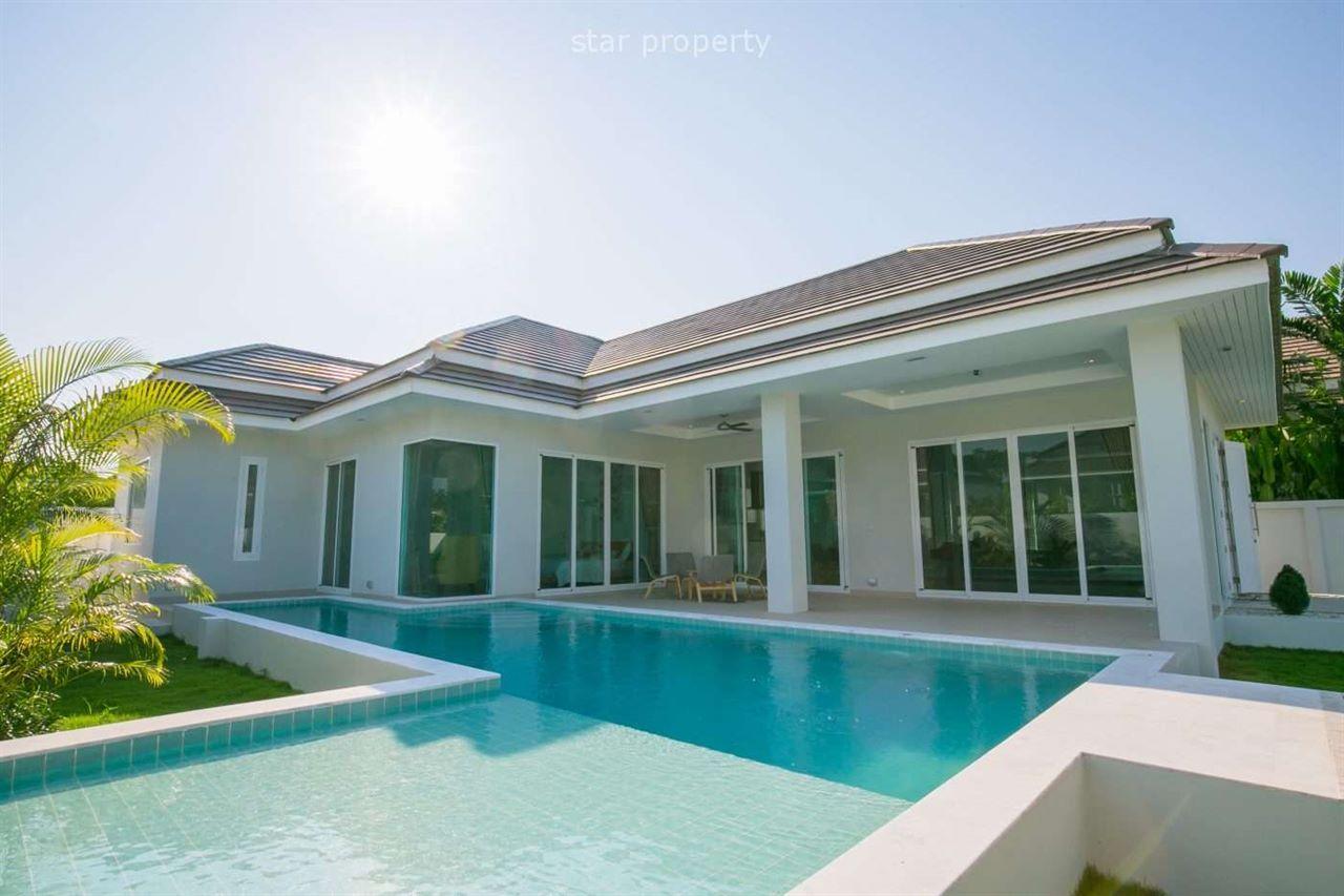 Beautiful L-Shape Pool Villa for Sale