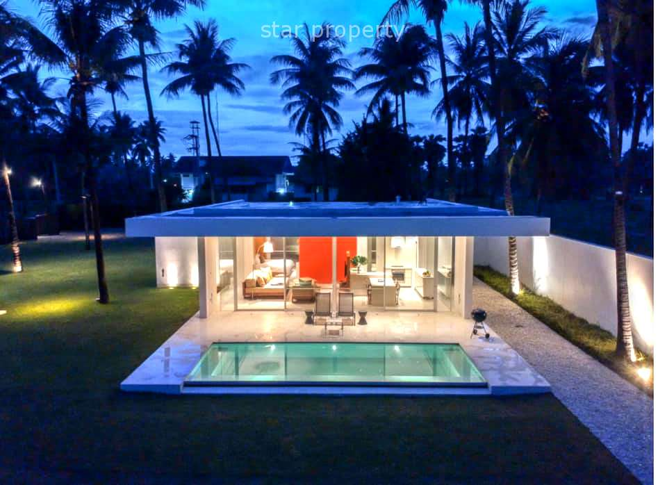 Romantic Luxury Beach front Pool villa