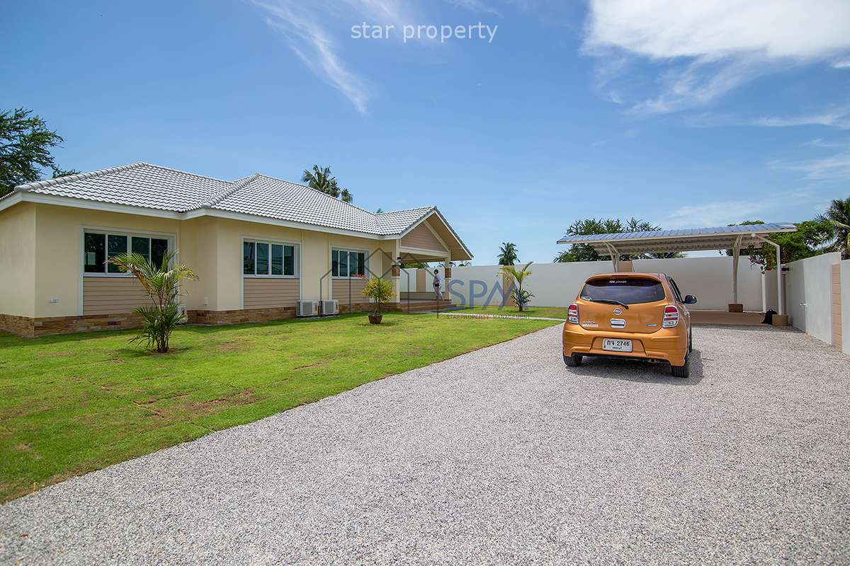 Private House for Sale Baan Nong Yao Cha Am at Cha Am