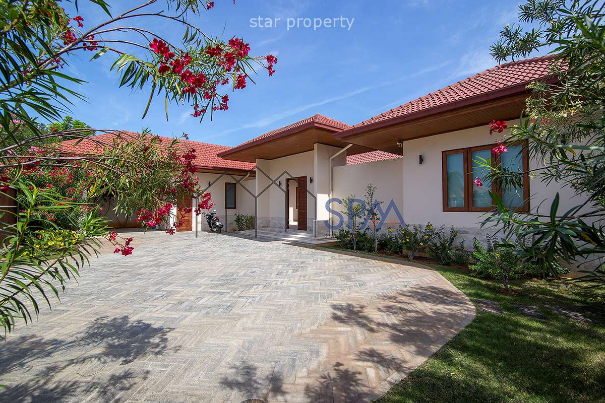 Brand new spacious pool villa for sale near Khao Kalok Beach at Hana Village