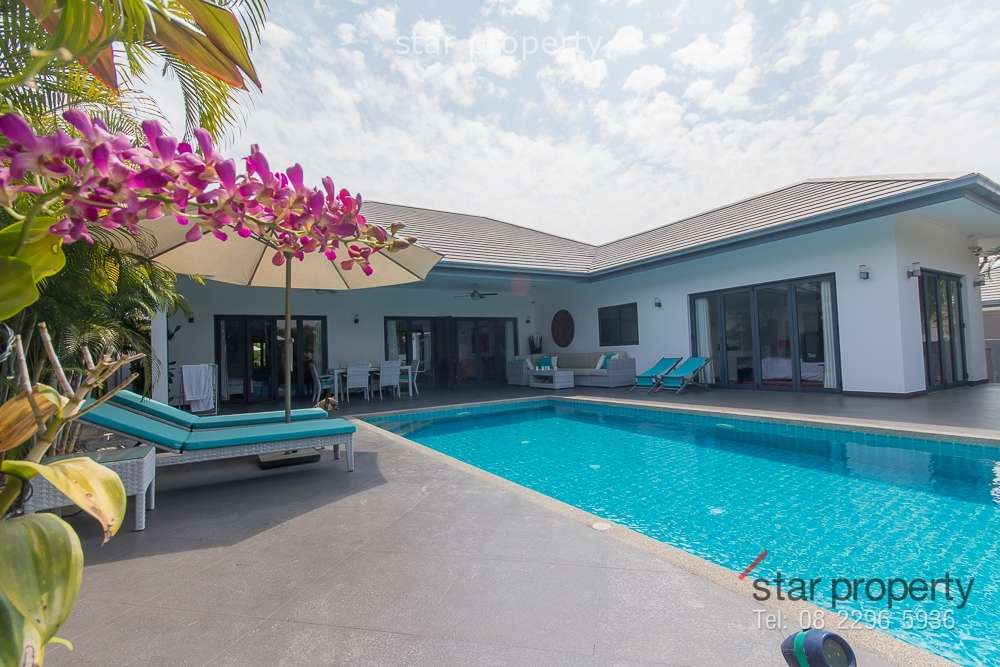 Modern Villa, for Sale at Sunset View Hua Hin Soi 70