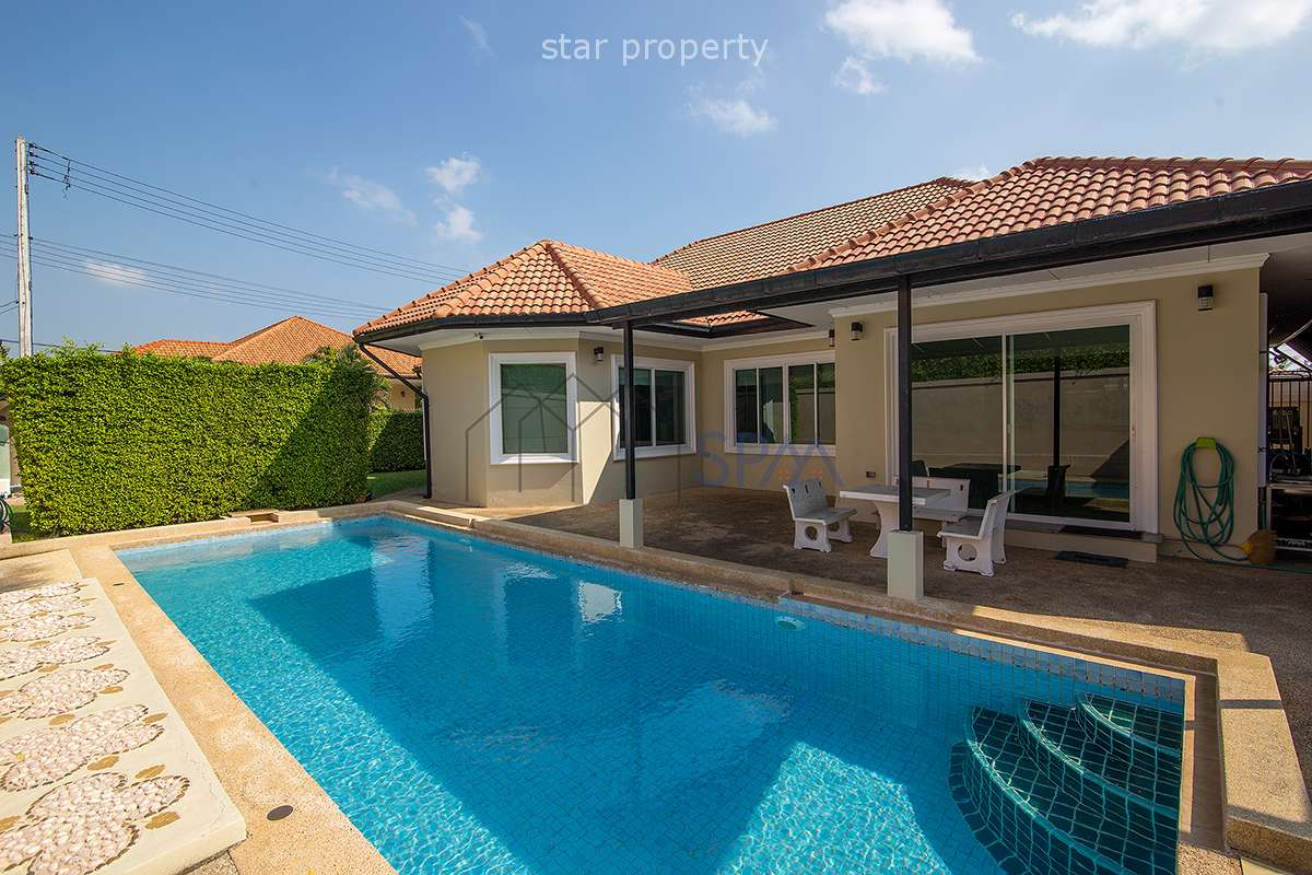 3 Bedrooms Pool Villa for Sale at Jasmine Village Hua Hin Soi 114 at Jasmine Village