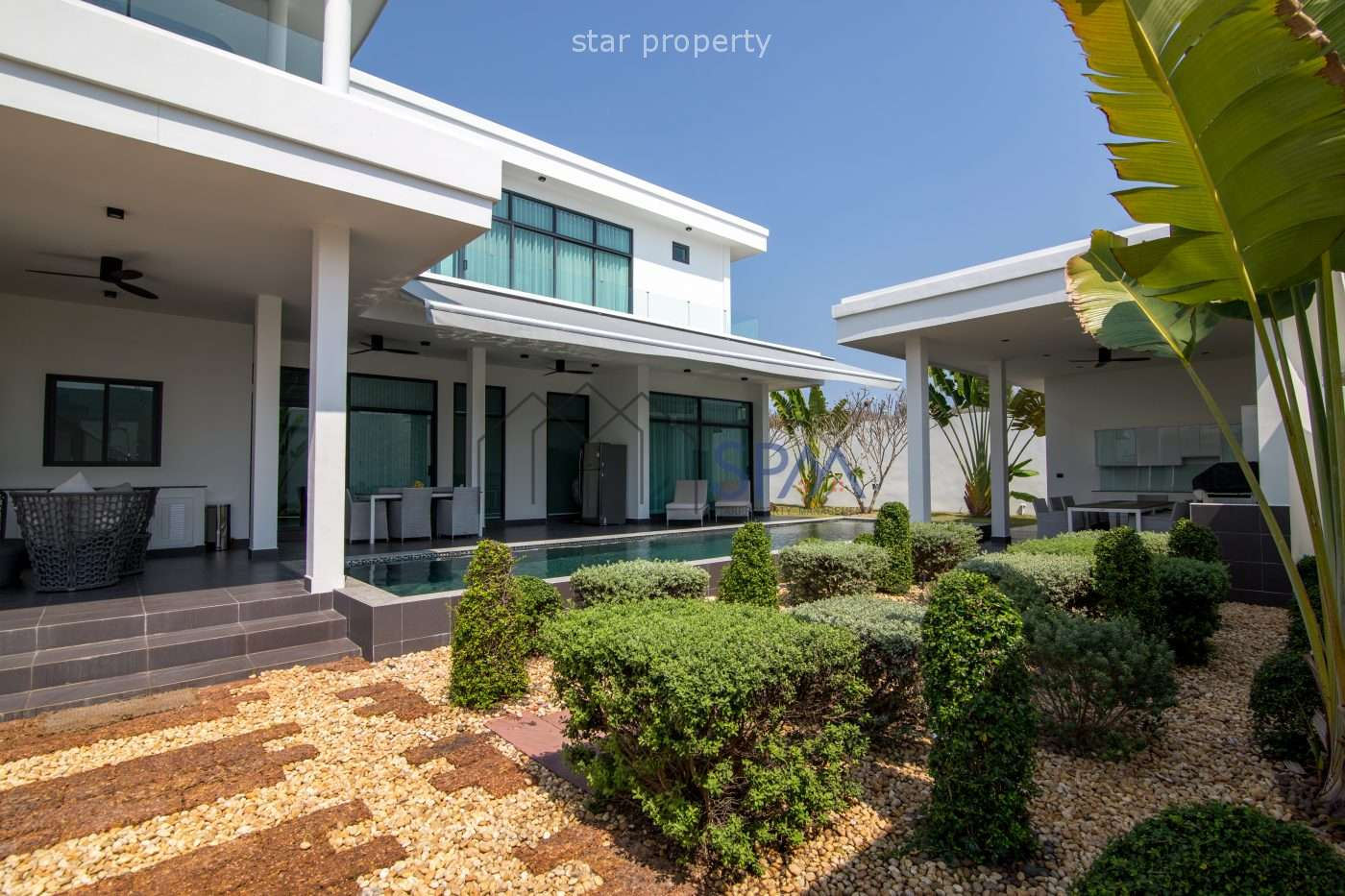 pool Villa resort style for sale at
