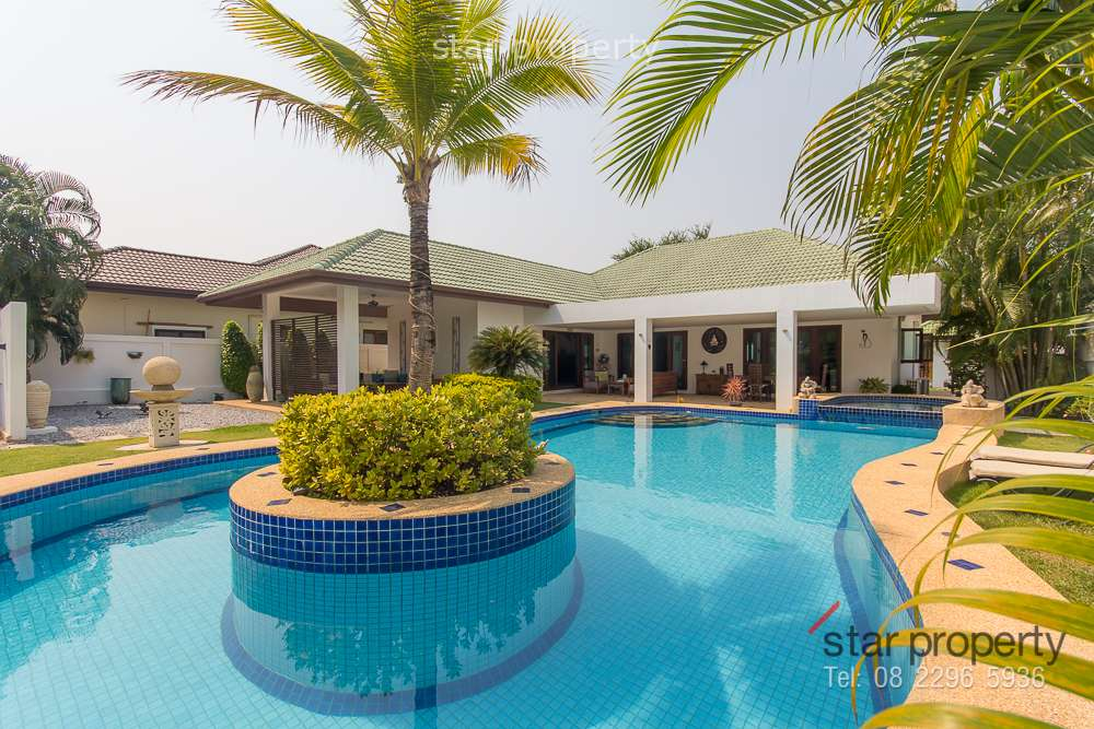 Large Pool Villa for Sale Hua Hin Soi 114