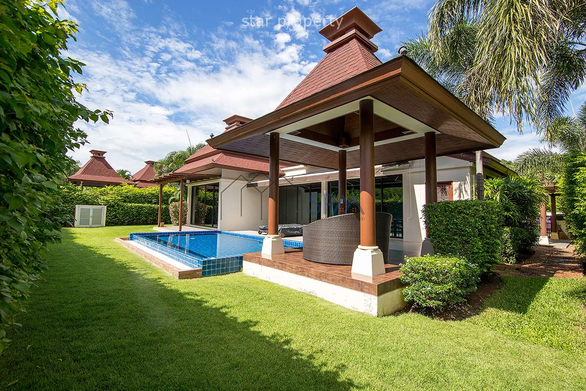 Pool Villa at Panorama Hua Hin Soi 101 for Sale Freehold at Panorama