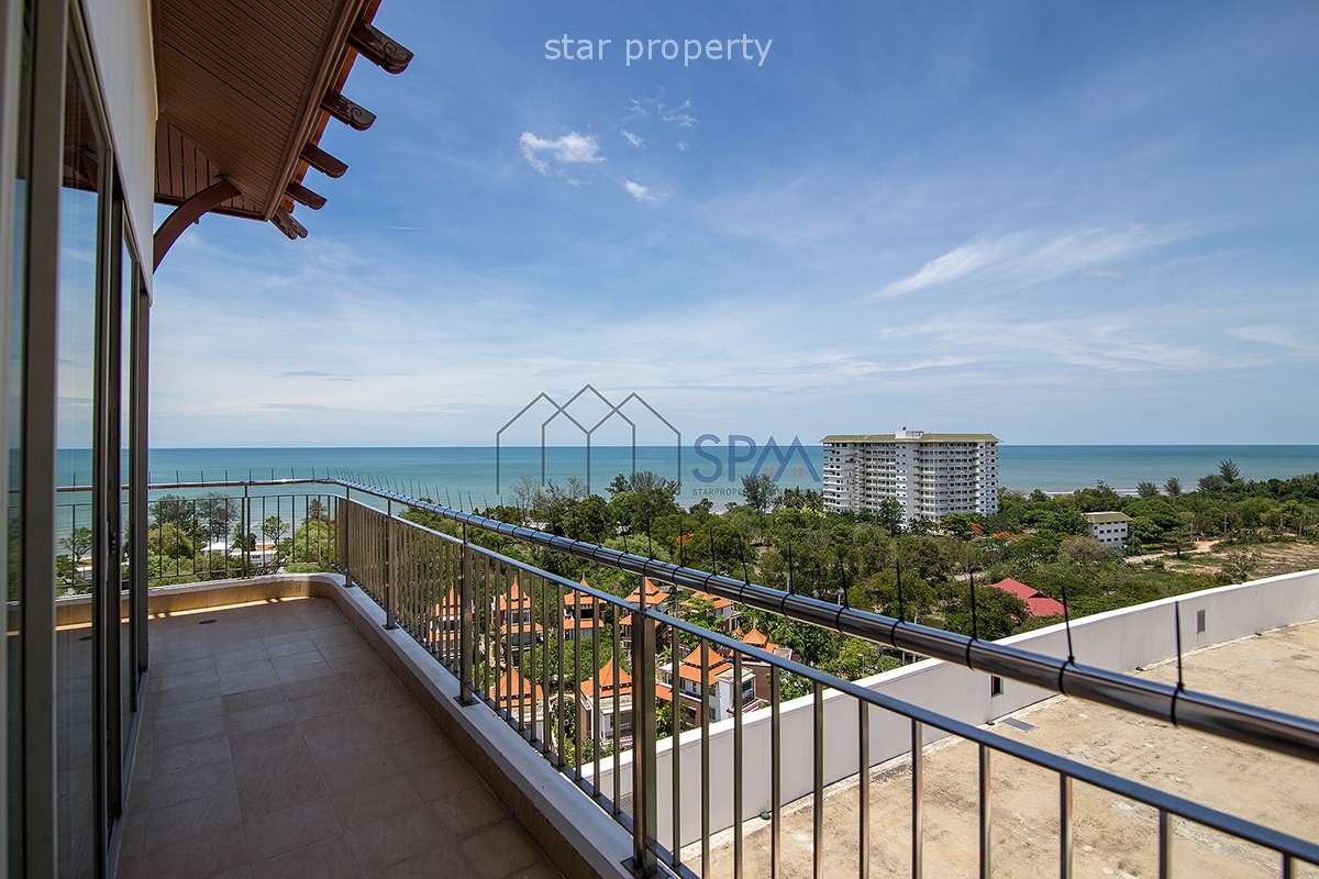 Penthouse at Boathouse  on 14th floor with Great Sea View at Cha-Am