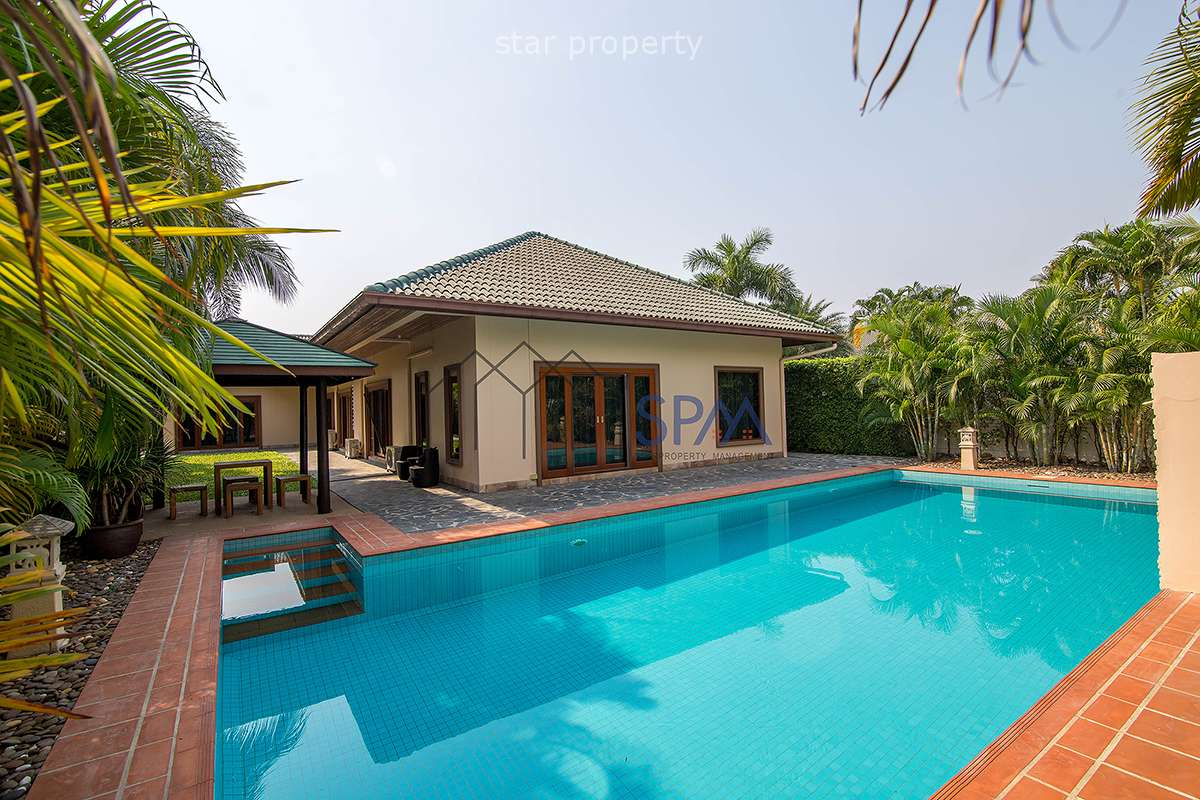 Pool Villa For Rent at Coconut Garden 2 Hua Hin Soi 70 at Coconut Garden 2