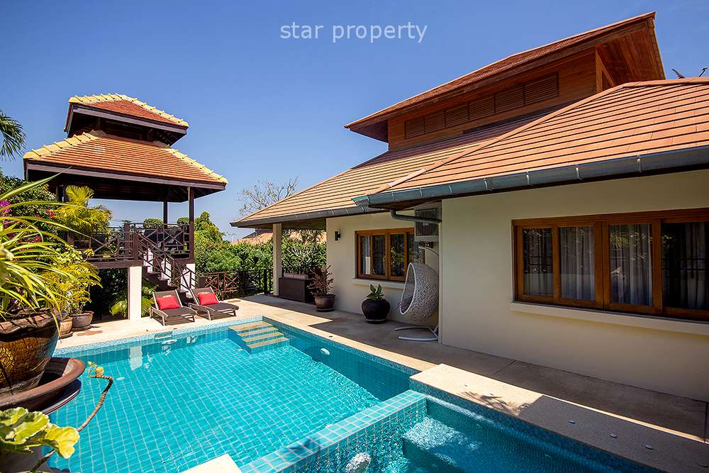 Pool  Villa for Rent at White Lotus Hua Hin Soi 116