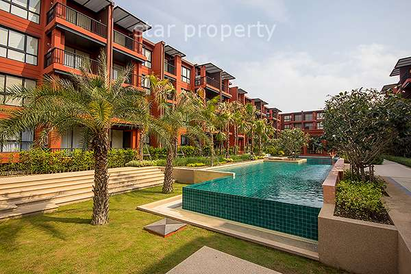 studio room for sale at Bluroc condo huahin at Bluroc condo
