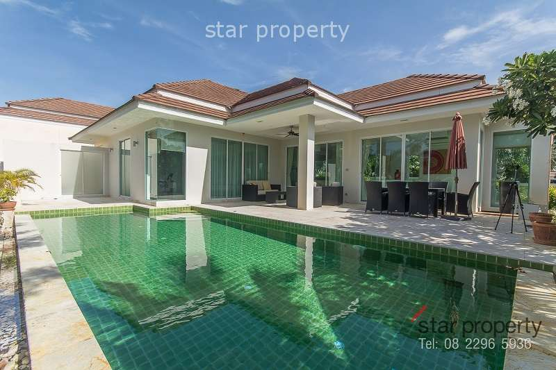 Pool Villa For Sale in Red Mountain Hua Hin Soi 88