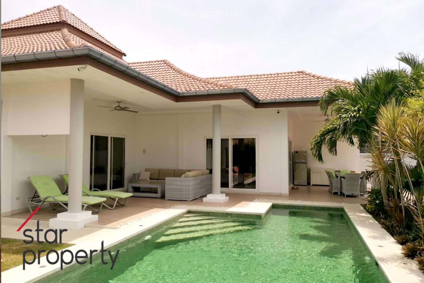 Beautiful Pool Villa Fully Finished for sale