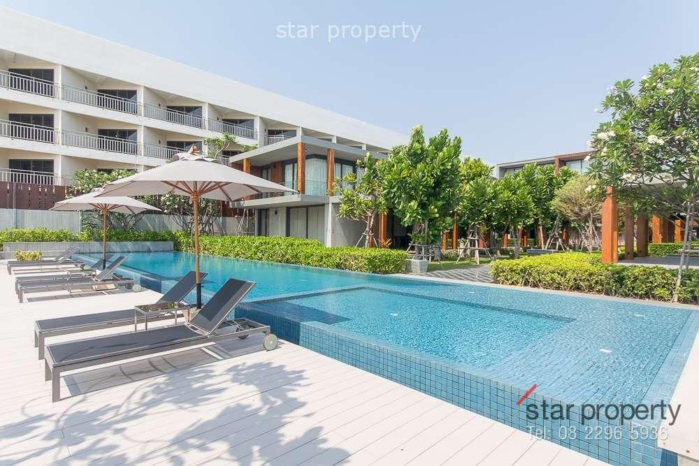Beach Front Condominium for Sale at Baan Sumranlom