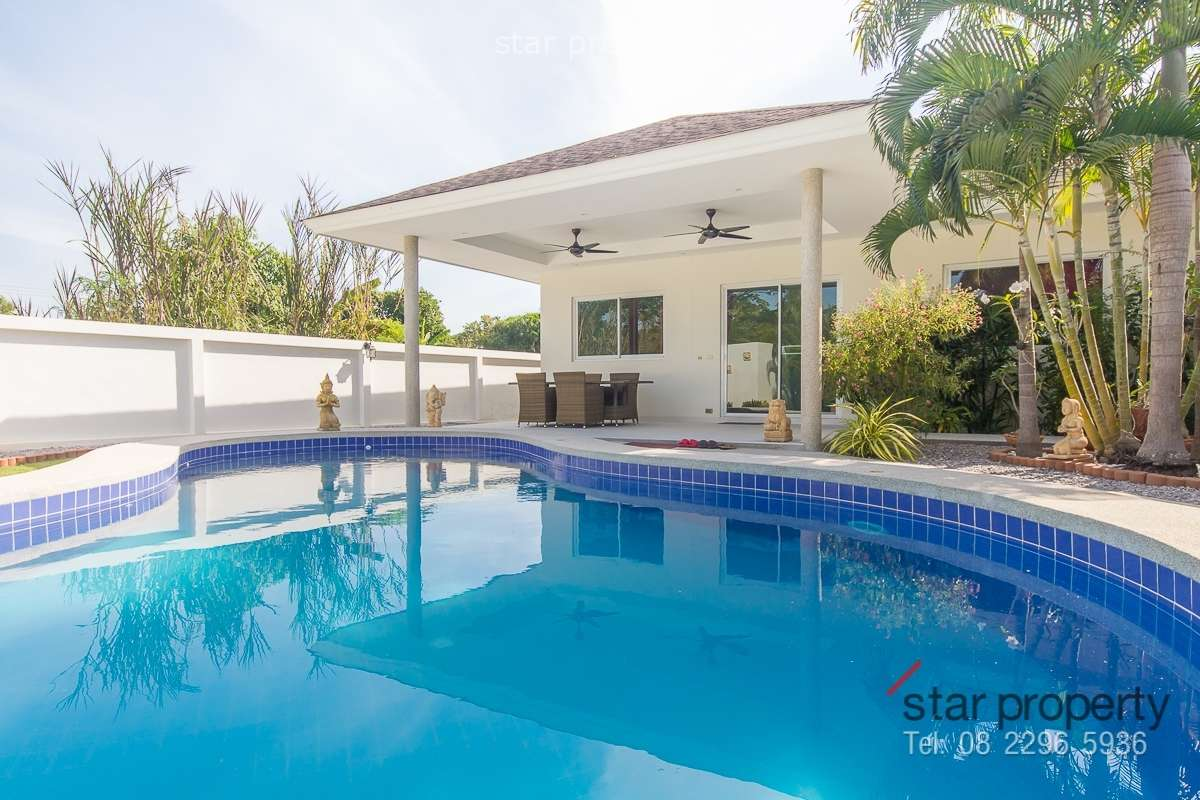 Pool Villa at Grove Residence near Black Mountain Golf Course for Sale