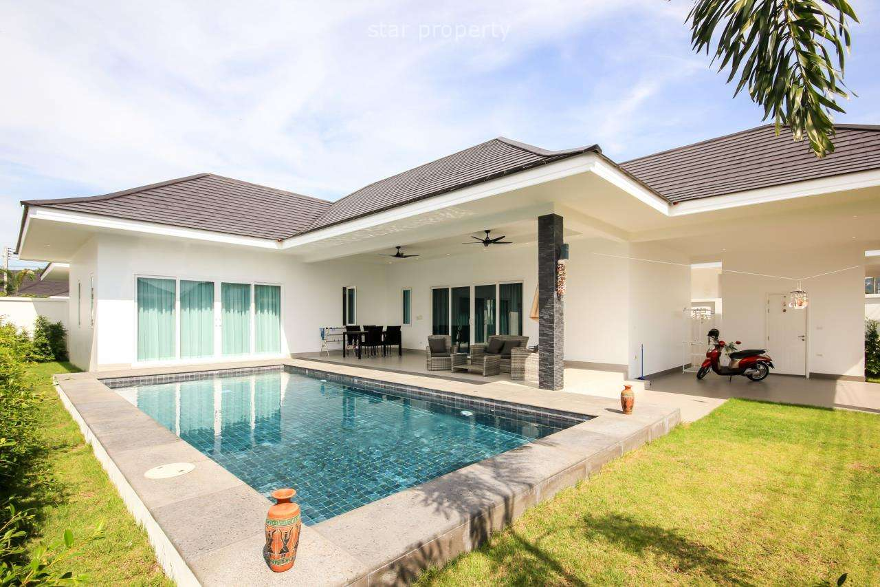 New House at Aria Hua Hin Soi 88 Pool Villa for Sale at Aria