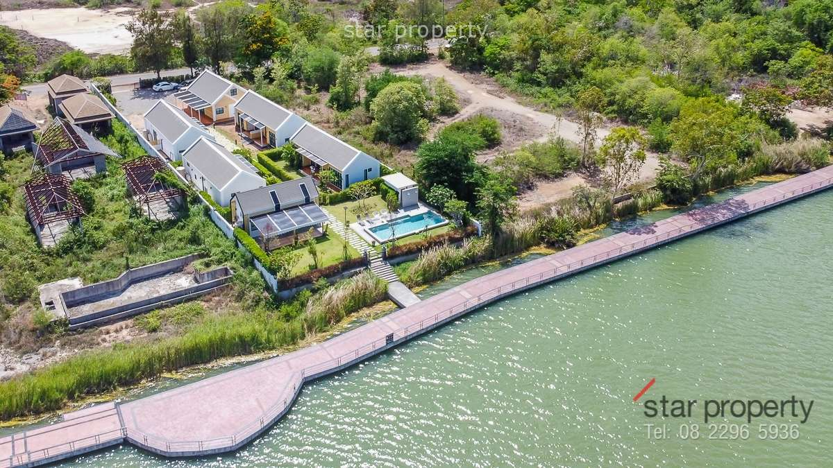 Luxury Scandinavian Style Villa by the Khao Tao Lake at Khao Tao, Hua-Hin