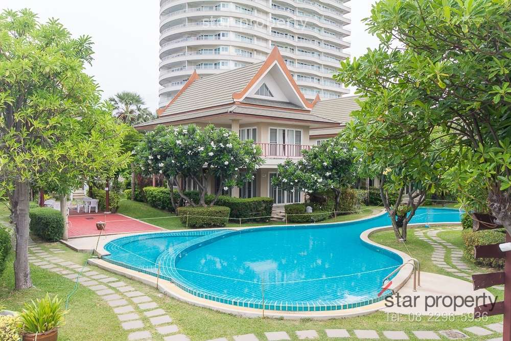 Condominium beach front for sale in Cha-Am at Talay Samran