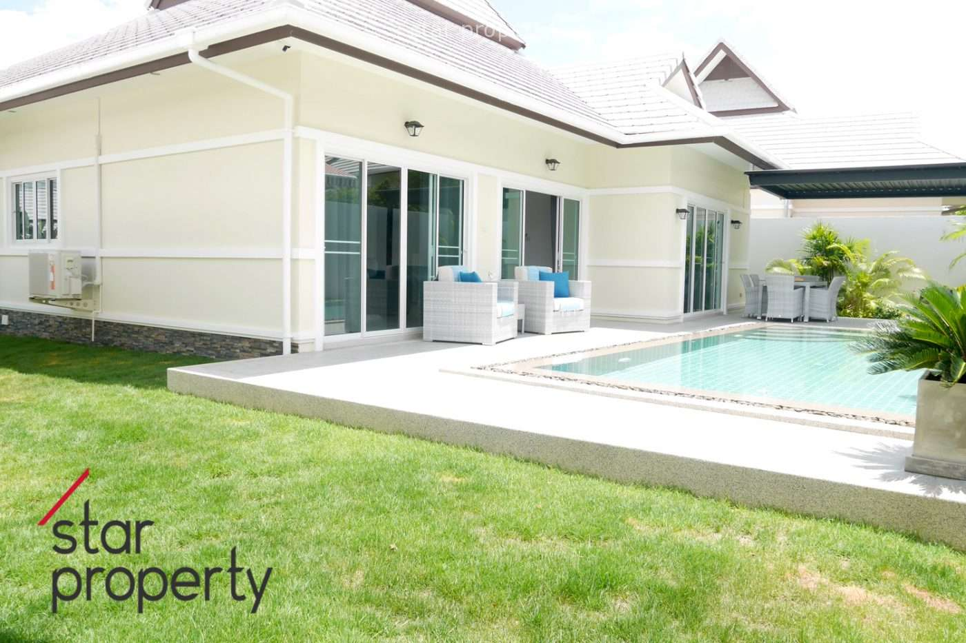 Pool Villa for Sale near Banyan Golf Club