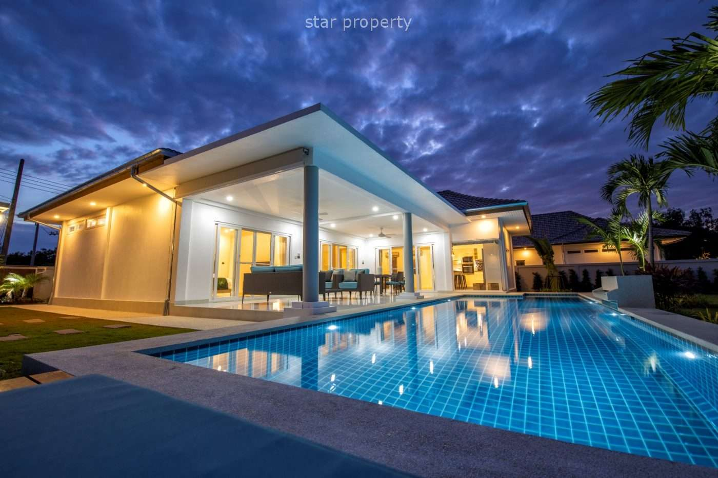 Large Pool Villa with 3 Bedrooms for Sale