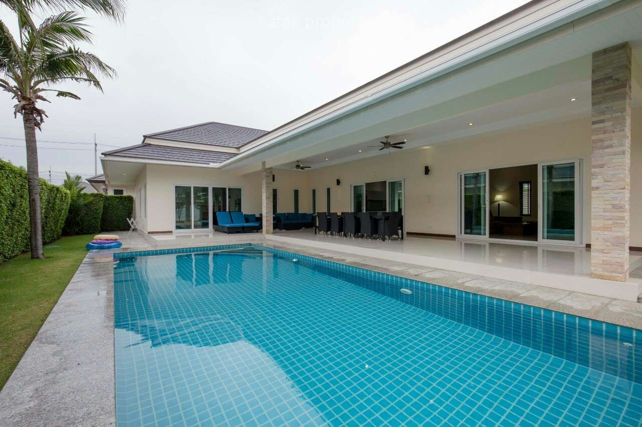 3 Bedrooms with Pool Villa for rent