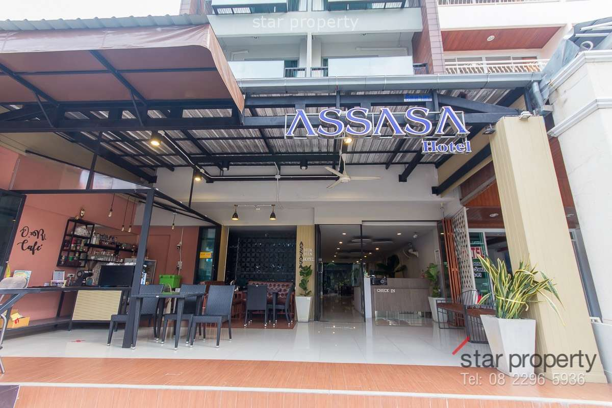 A Commerial Building in town for sale at Assasa Hua Hin Hotel