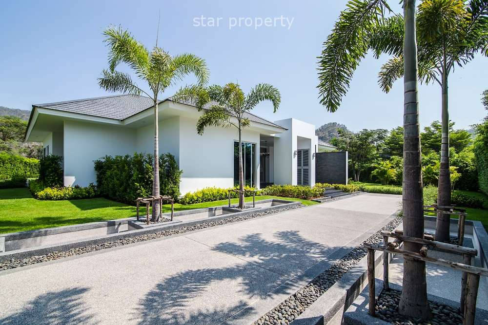 Exclusive 4 Bed Villa in a Five Star Resort for sale at Baan Ing Phu Private Estate