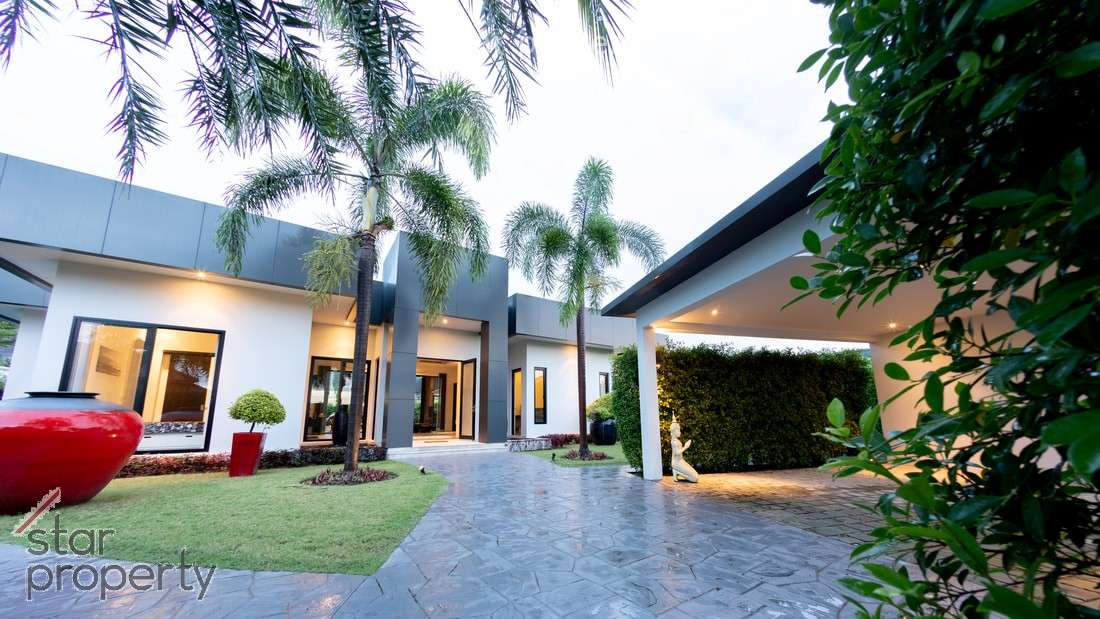 Exclusive 3 Bed Villa in a Five Star Resort for sale at Baan Ing Phu Private Estate