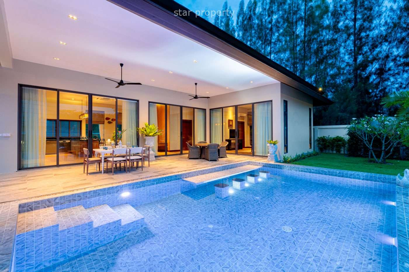 Beautiful Mountain View Villa for Sale B2 Plus at Panorama Black Mountain Pool Villas
