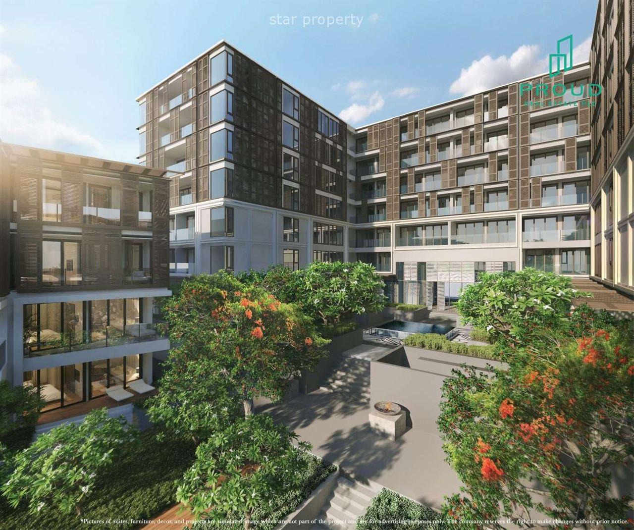 Beautiful Beachfront Condominium Project in Center of Hua Hin at Intercontinental Residences Hua Hin