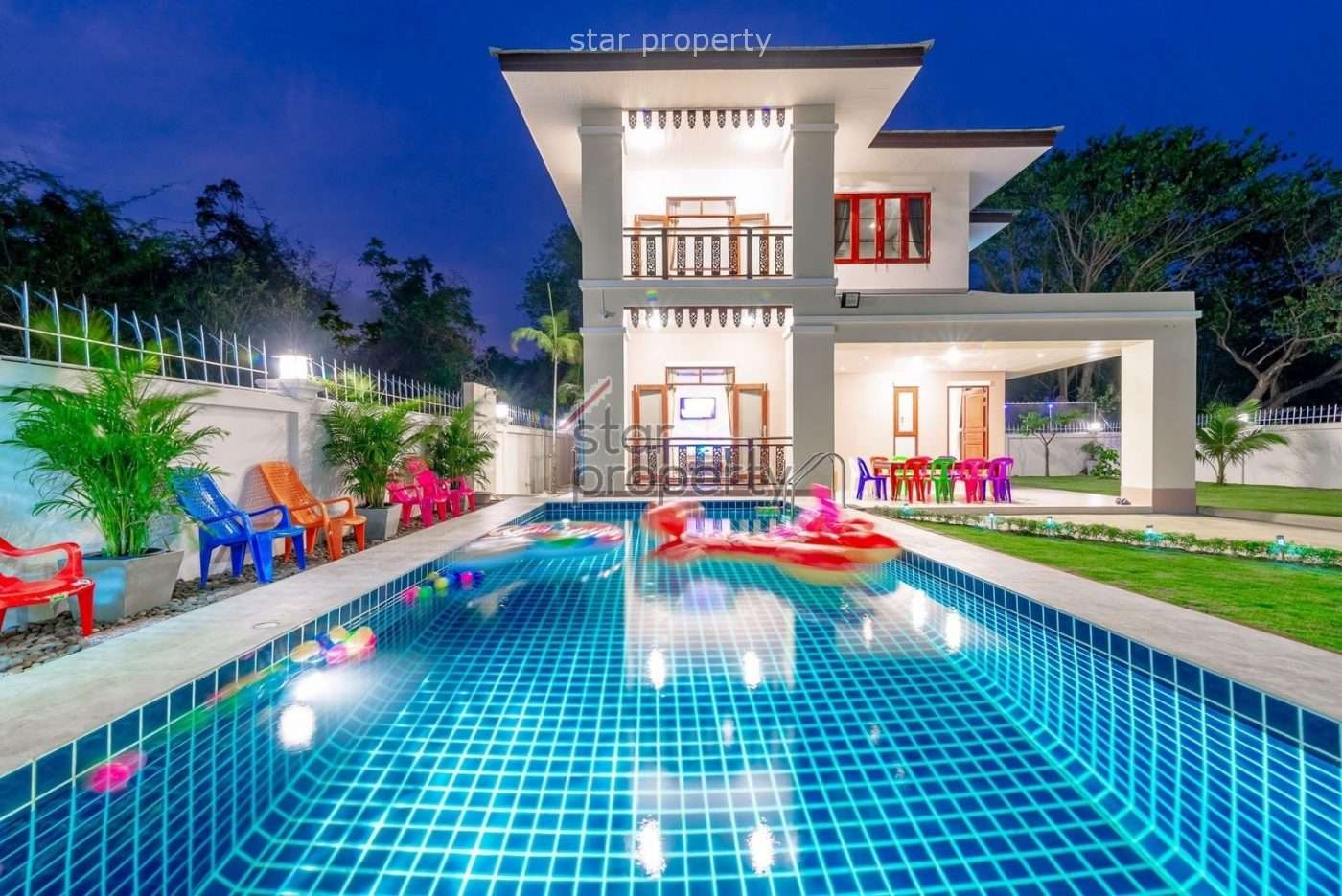 Stunning 2 Storey-House in north of Hua Hin for Sale at near Hua Hin Hospital