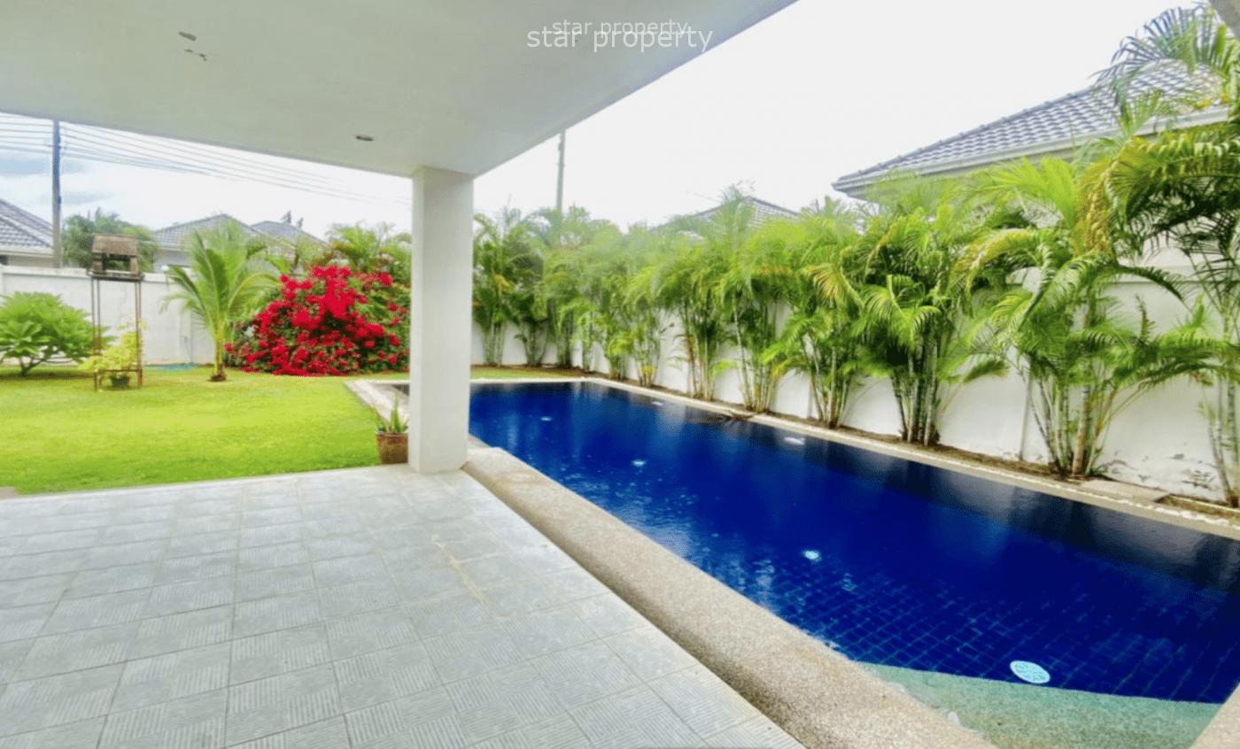 Stunning 3 Bed Pool Villa for Sale at Gold A Hua Hin